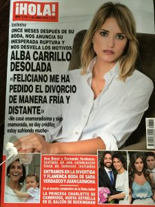 Alba Carrillo y su exclusiva