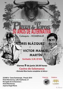 Homenaje por los 50 años de alternativa