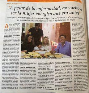 """Entrevista en """"Salamanca al Día"""""""